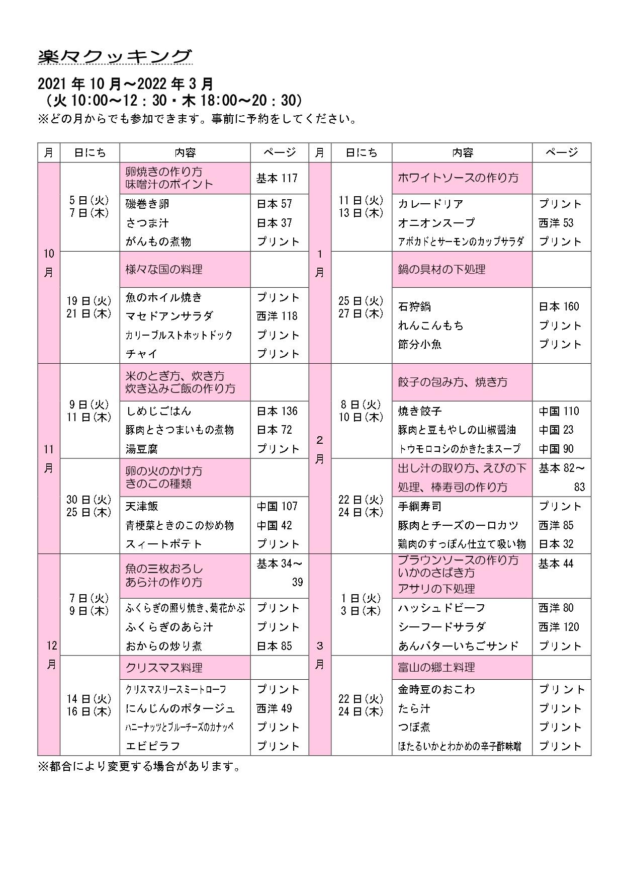 2021.10~2022.3楽々クッキングカリキュラム_page-0001
